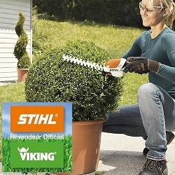 HSA25 STIHL, Idéal pour tailler, sculpter et couper avec précision les haies et les bordures de pelo